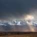 Непогода в Курайской степи.