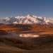 Северо-Чуйский хребет, плато Ештыкель, озеро Джангысколь