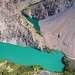 Казанколь и Малый Казанколь - озера, которые образовались в результате палеоземлетрясения, когда в долину обрушился целый горный склон. Малый Казанколь располоден на китайской территории.