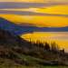 Золотой залив.  Город Новый Афон. Начало марта. Рассвет