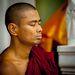 Медитация. Пагода Шведагон. Янгон.