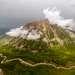 Долина реки Узун-Карагалы в плохую погоды выглядит весьма эффектно. Многослойные облака придают горному пейзажу какой-то особенный колорит.