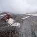Ледник с многочисленными проталинами.
