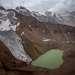 Ледник им. Маншук Маметовой, названный в честь героини ВОВ, и одноименное озеро.