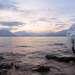 Вид на закате с мыса Чичилган.