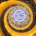 Лестница Момо в Ватикане (вид снизу). Из серии \