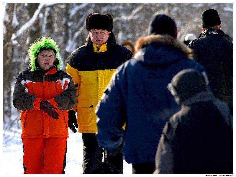 Яркие, зима, Кусково Яркие :)photo preview