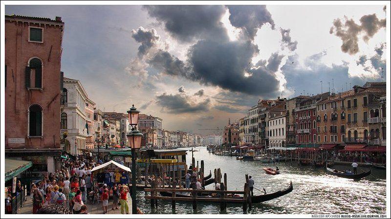 Венеция, Италия, гранд, канал Венеция. Гранд канал #2.photo preview
