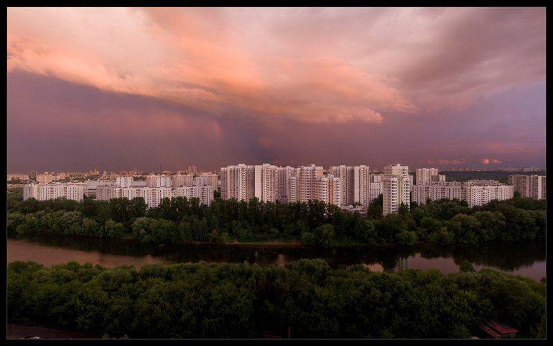 москва, река, июнь, город Мой городphoto preview