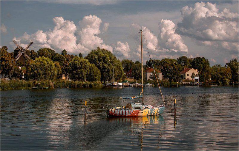 foto liubos, германия, лето ,река, werder (havel) Летний день на реке Хафельphoto preview