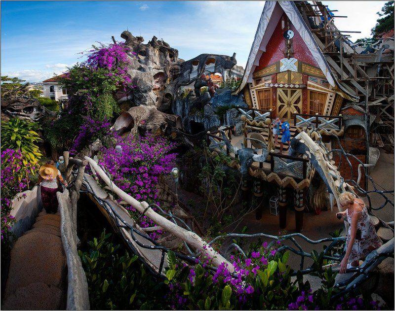 вьетнам, далат, crazy house Crazy Housephoto preview
