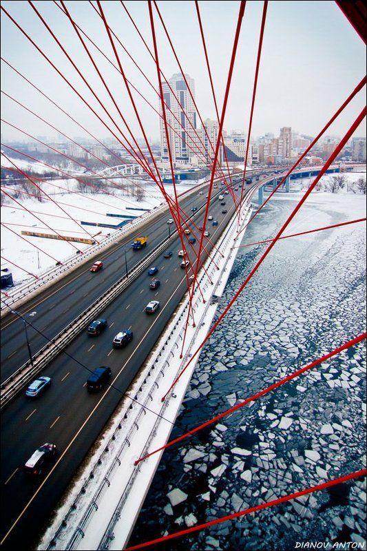 москва, живописный мост, серебряный бор Зимний Живописныйphoto preview