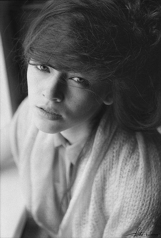 35 мм, 35мм, foto-vdvoem, пленка, пленочная фотография, пленочное фото, портрет, портрет девушки, фото вдвоем, черно-белая фотография, черно-белое фото Аннаphoto preview