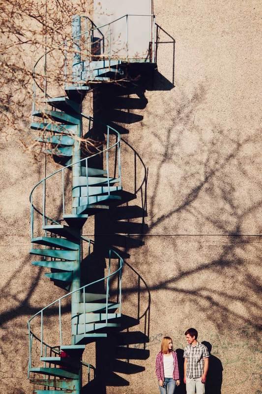 Двое, Лестница photo preview