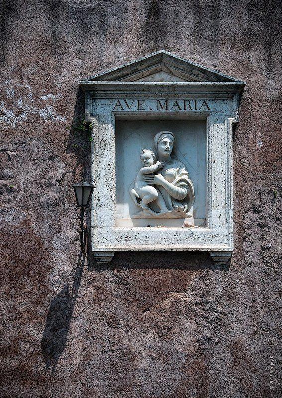Ave Maria, Барельеф, Италия, Рим Ave Mariaphoto preview