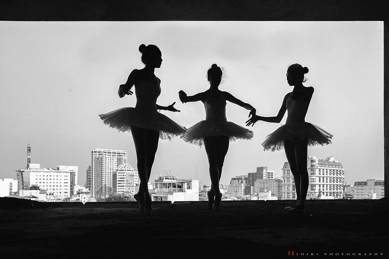 Ballet in the cityphoto preview