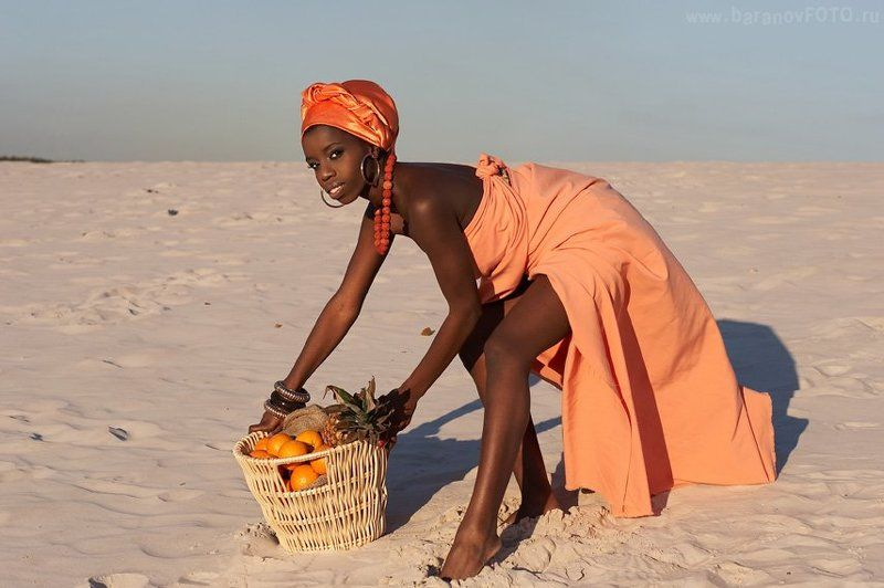 Африка фото ню