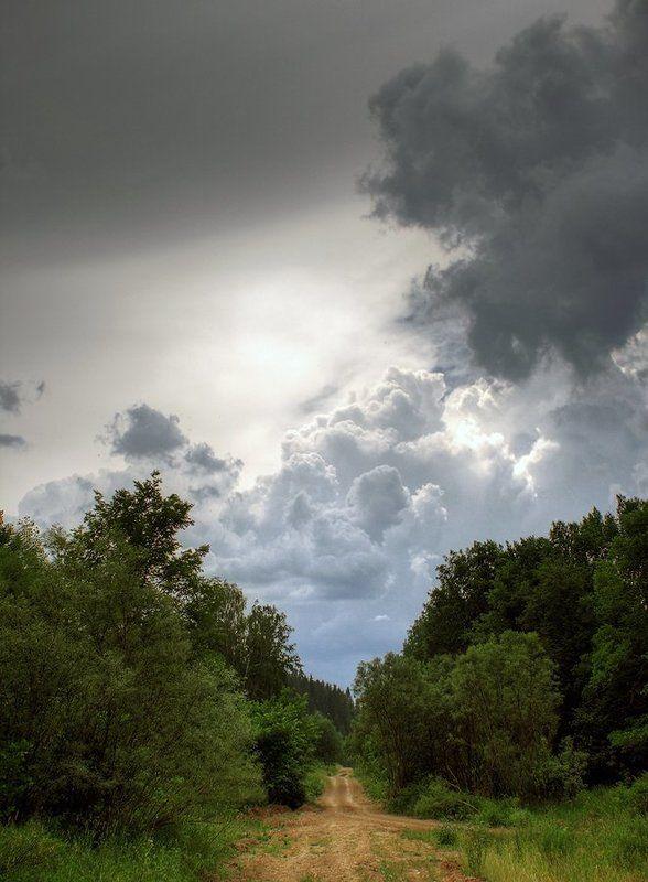 Дорога в облакаphoto preview
