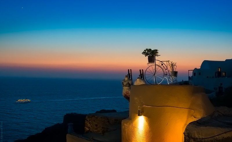 венера (закат на Санторини)photo preview