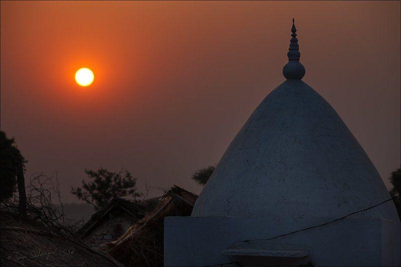Вриндаван - город Бога (утро)photo preview
