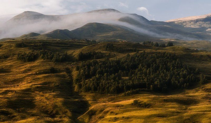 Утро в горах.photo preview