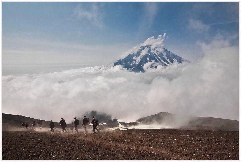 Уходить с вулкана.photo preview