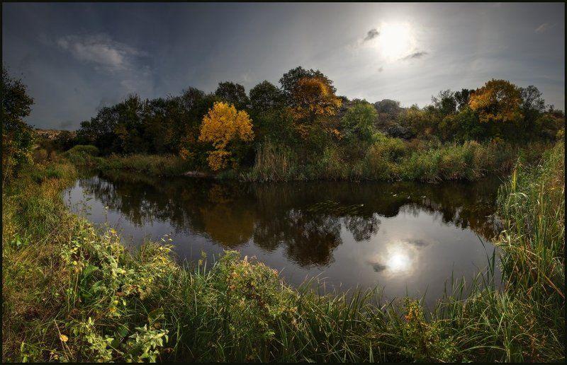 Арбузинка, Каньон, Мертвовод, Осень, Река, Ярославский Виталий Живая и Мертвая Водаphoto preview