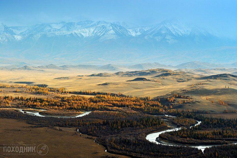 Курайская степь, Горный Алтайphoto preview