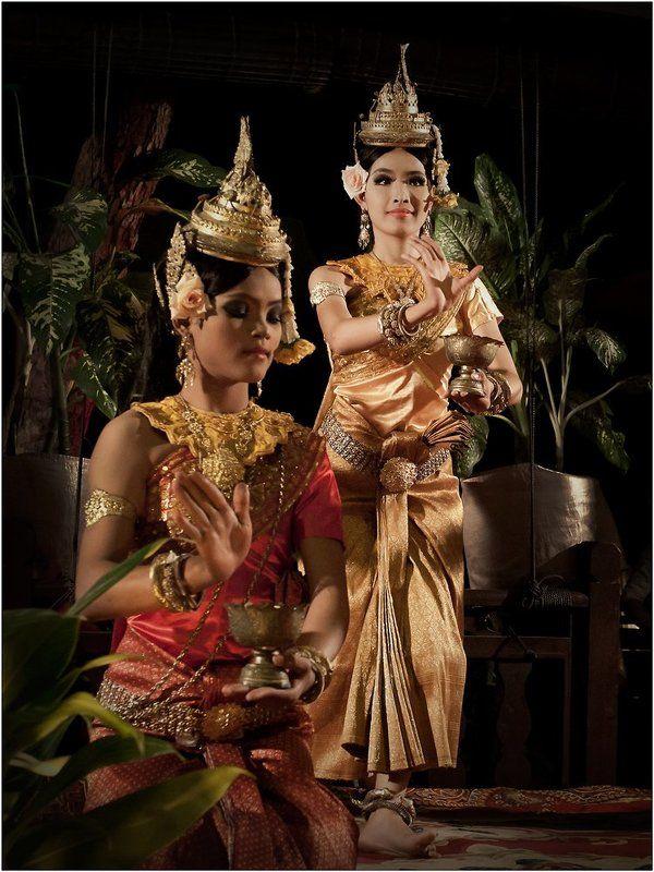 Cambodia, Dancers, Siem Reap, Камбоджа, Танцовщицы Cambodia dancersphoto preview