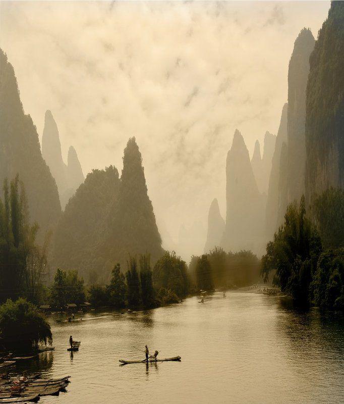 Китай Гуйлинь блюз Китайский блюз...photo preview