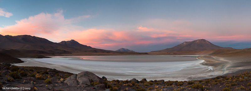 bolivia, боливия, соль, лагуна, закат Просто спокойный вечерphoto preview