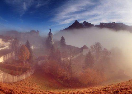 Осенний город