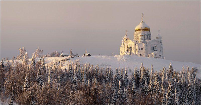 Белая гора. Вечер.photo preview