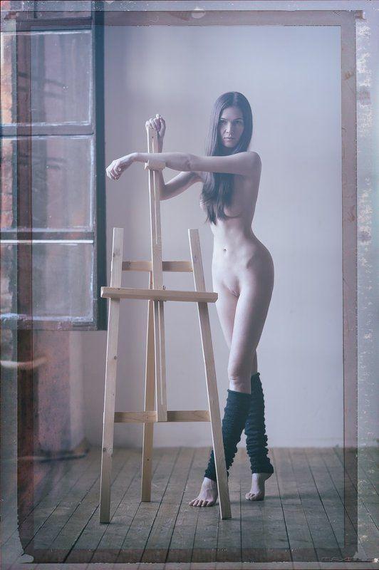 девушка, портрет, гламур, ню Artphoto preview