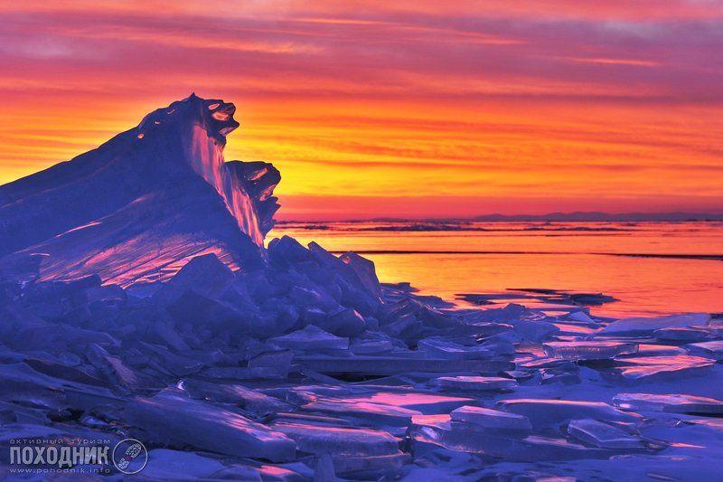 Рассвет на Байкалеphoto preview