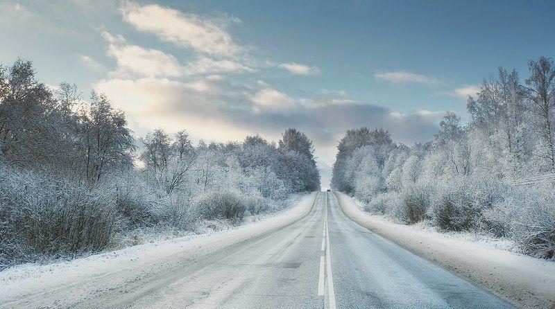 По дороге в зиму..photo preview