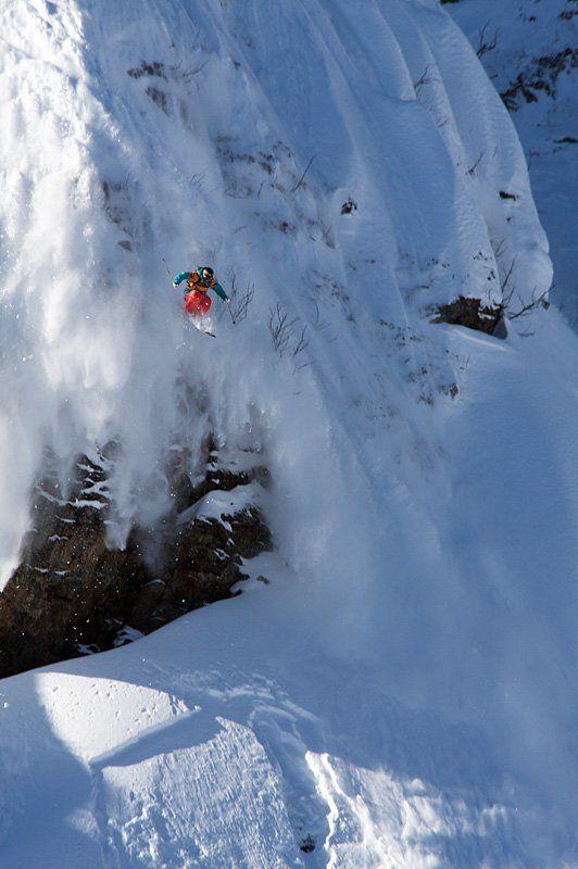 экстрим, горные лыжи, фрирайд photo preview
