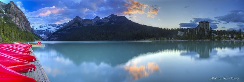 Lake, Moumtains, Summer, Sunset, Tranquility, Zen Anticipation of Zenphoto preview