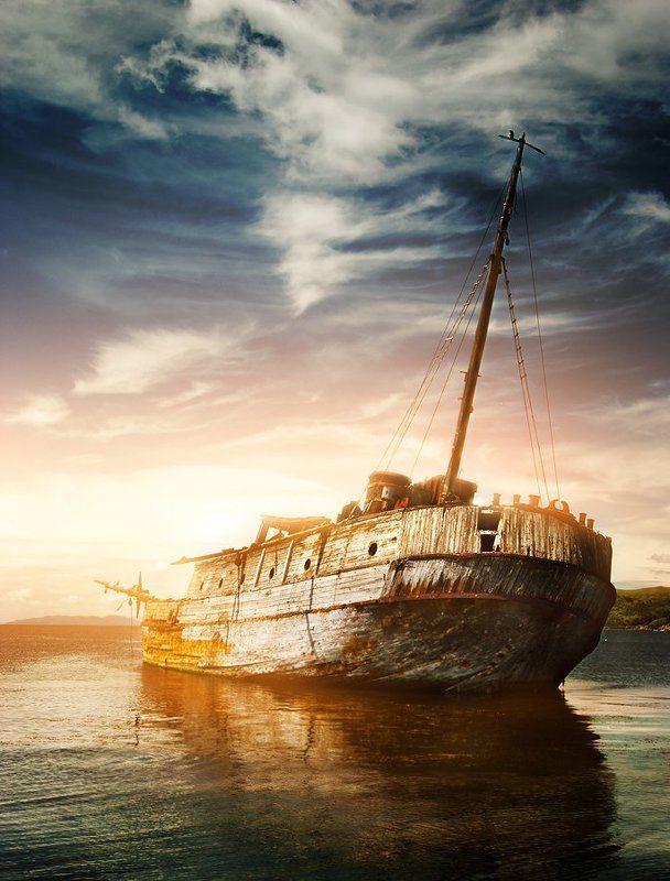 Бухта Витязь, Витязь, Грушина юлия, Корабль, Море, Морской пейзаж, Пейзаж, Пейзаж с кораблем, Приморье, Старое судно, Старый корабль, Судно, Тихий океан Уснувшийphoto preview