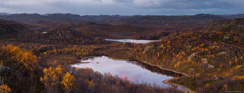 Autumn, Hill, Kola Peninsula, Кольский, Осень Осенние просторы Заполярьяphoto preview