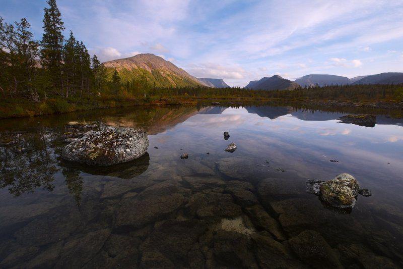 2014, Хибины Вечер на Полигональных озёрахphoto preview