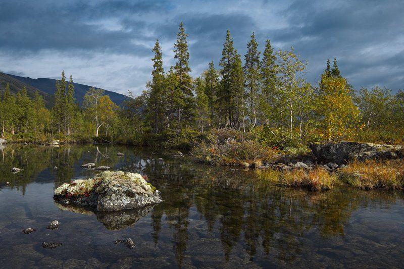 2014, Осень, Полигональные озера, Хибины Неброское очарование севераphoto preview