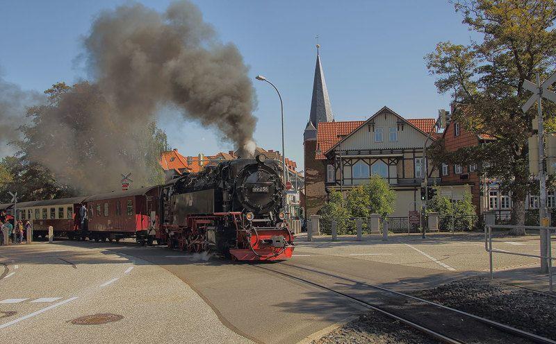Паровоз из Вернигероде(Германия)photo preview