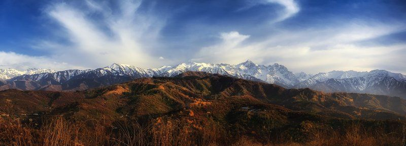 Алма-ата, Алматы, Заилийский алатау, Казахстан Осень в Алатауphoto preview