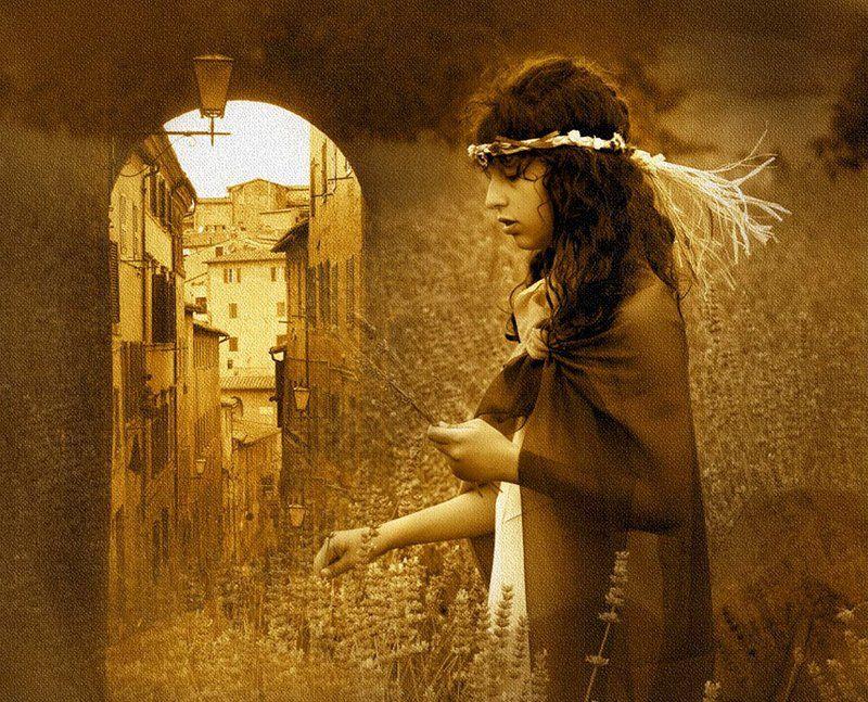 италия, тоскана, сиена, портрет, стилизация Italian memories...photo preview