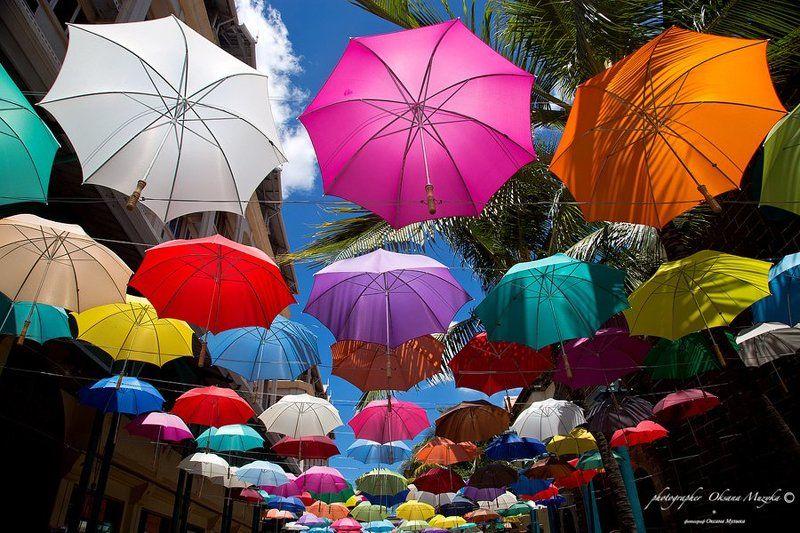 По улице цветных зонтов.photo preview