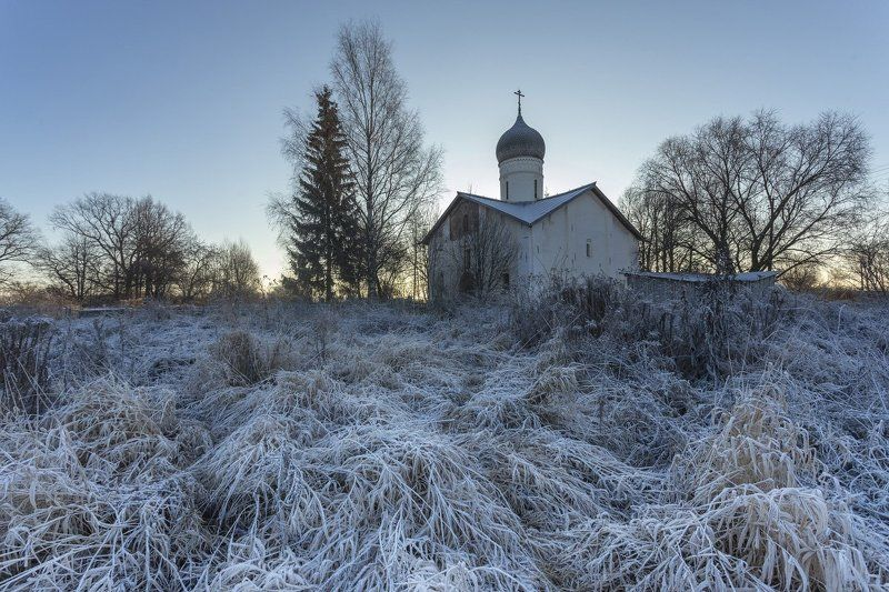Утро под Новгородомphoto preview