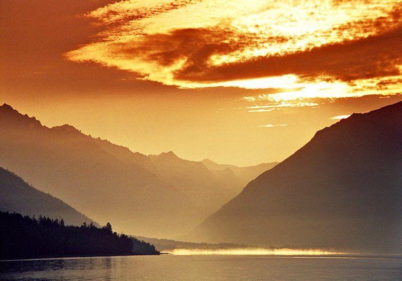 утро,озеро,горы,забайкалье Утро на Фролихе.photo preview