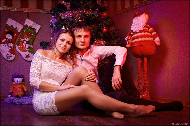 Елка, Новогодний, Новый год, Портрет, Рождество, Семейный, Студия Семейный портрет под Рождествоphoto preview
