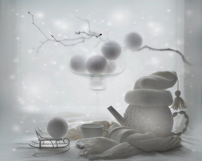 Зимнее настроение, Натюрморт ....Холодно...photo preview